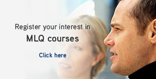 Register your interest in MLQ courses
